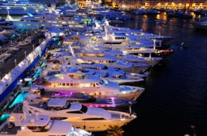 Выставка яхт Монако