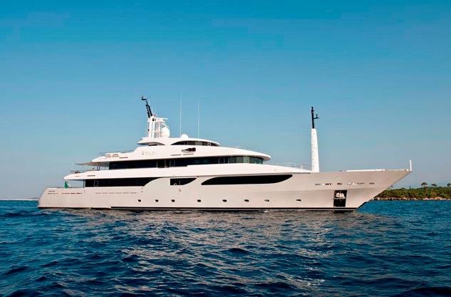 Яхта Лазурный берег Франция